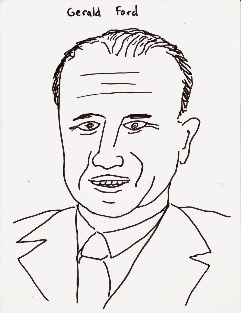 coloring pages of gerald ford - photo#10