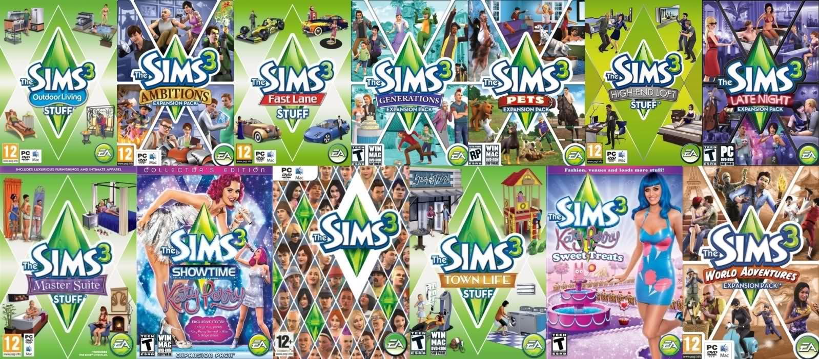 Download The Sims 3 Expansion Packs Lengkap - Maringngerrang