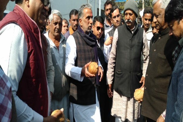 minister-kp-gurjar-started-rs-13-crore-road-sector-23-ip-colony-news