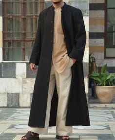 baju muslim atasan untuk pria dengan kombinasi