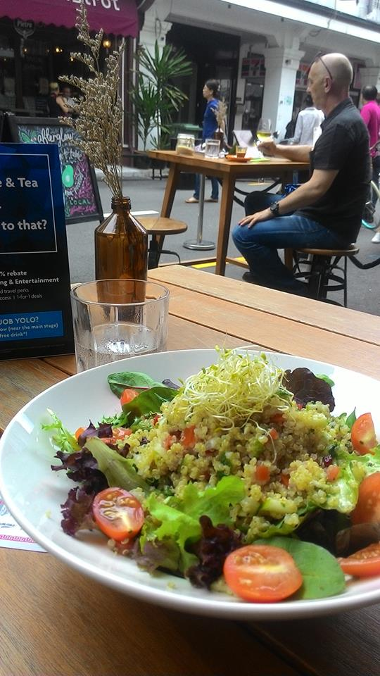 Chic vegetarian cuisine awesome lunch afterglow for Awesome cuisine categories vegetarian