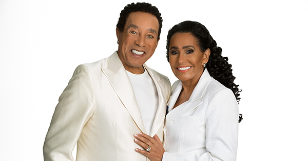 Smokey Robinson with wife, Frances