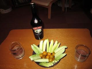 cocktail au Baileys avec du café et du cacao