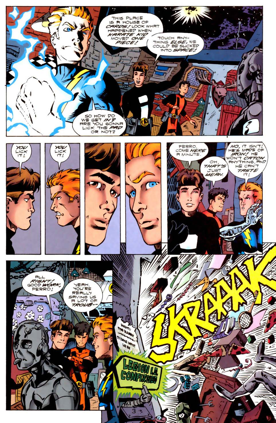 Legion of Super-Heroes (1989) 114 Page 3