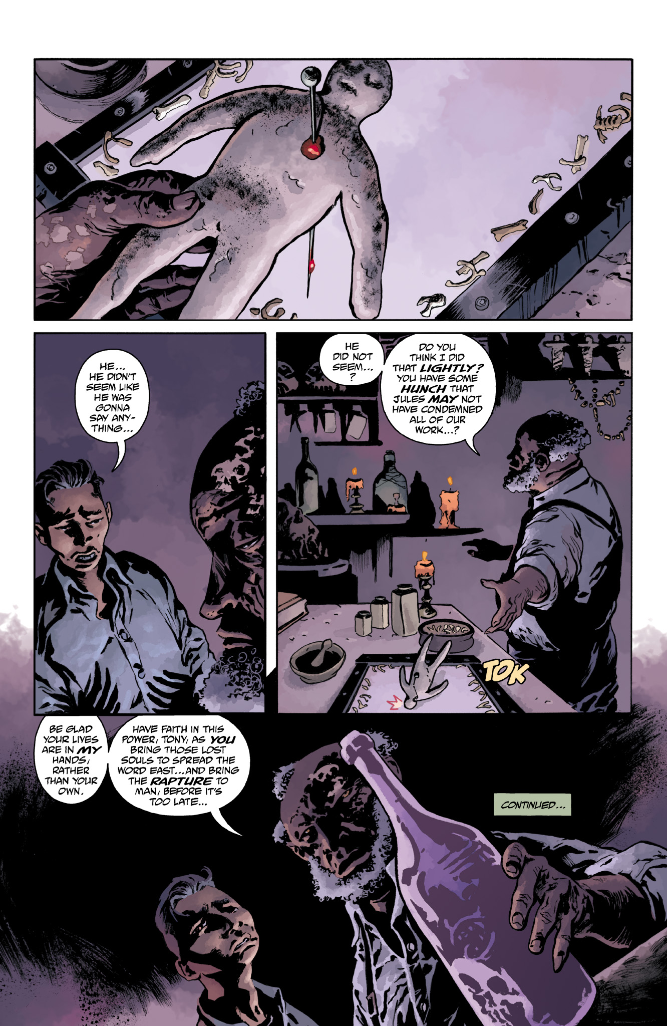 Read online Abe Sapien comic -  Issue #18 - 24