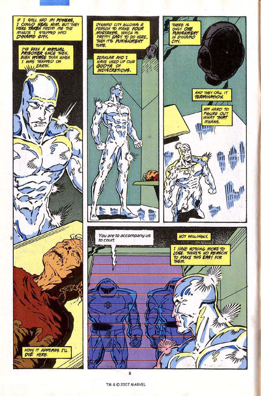 Read online Silver Surfer (1987) comic -  Issue #43 - 4