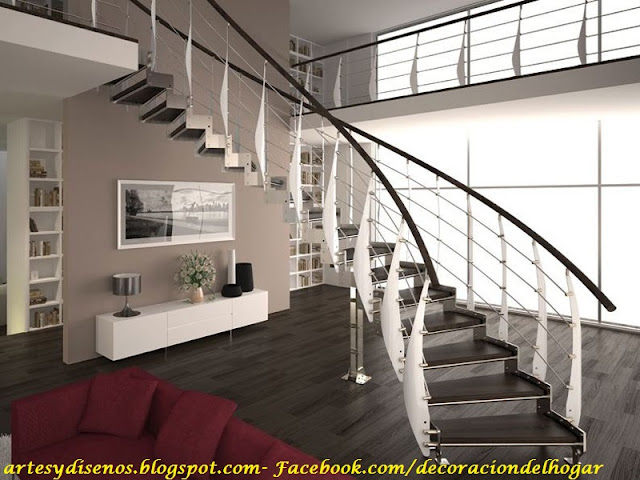Decorar escaleras interiores - Decorar escaleras interiores ...