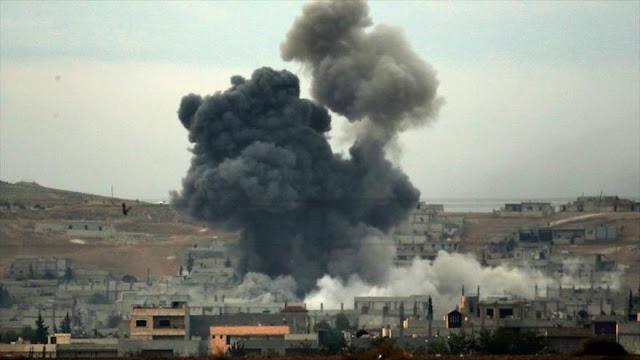 Nuevo ataque de la coalición de EEUU mata a 45 civiles en Al-Raqa
