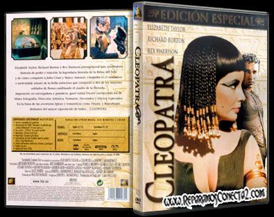 Cleopatra [1963] Elizabeth Taylor, Richard Burton, Caratula - Cover