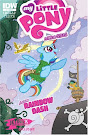 My Little Pony Micro Series #2 Comic Cover Jetpack Variant