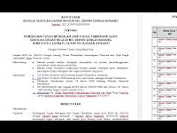 Download Contoh SK Pembagian Tugas Mengajar Guru Tahun Ajar 2016 - 2017