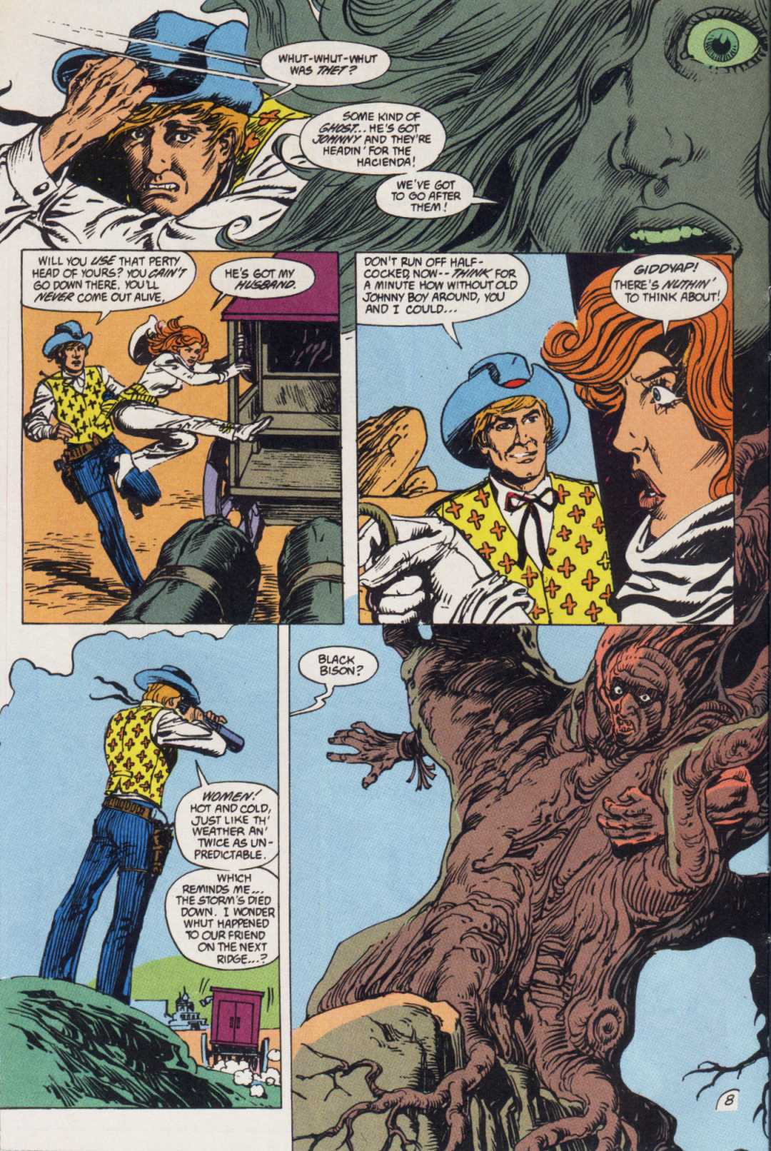 Swamp Thing (1982) Issue #85 #93 - English 8