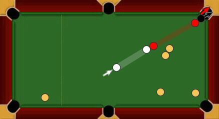 blackball pool rules same pocket combination