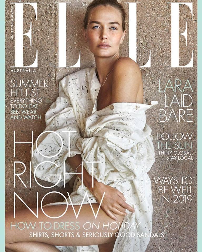 Lara Worthington for Elle Australia January/February 2019