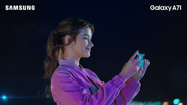 Liza Soberano for Samsung Galaxy A71