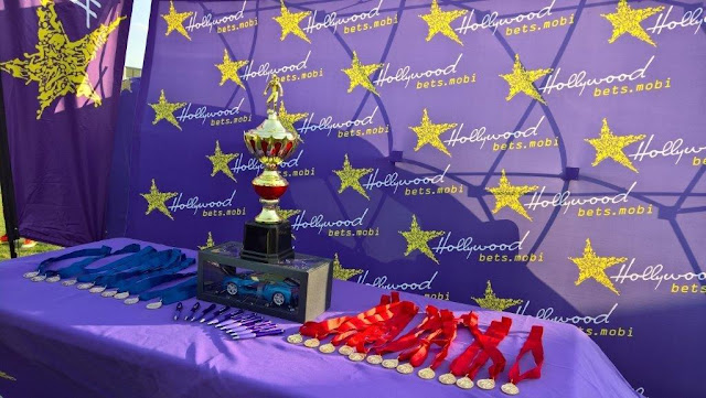 Trophies and Prizes - Hollywoodbets Charity Soccer Tournament - Polokwane
