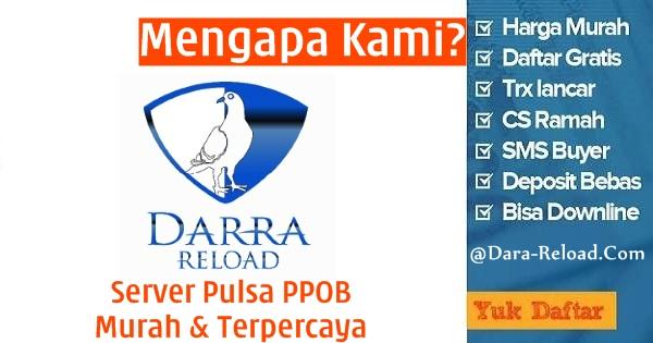 Dara-Reload.com adalah Web Resmi Server Darra Reload Pulsa Murah Tangerang