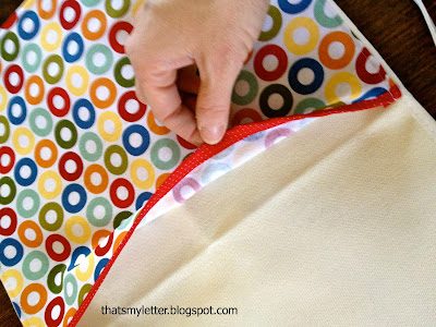 diy big brother apron with pocket for crayons