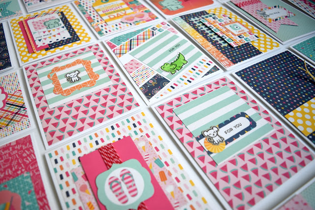 Summer Cards by Jess Crafts from Echo Parks Summer Dreams 6x6 Paper Pad