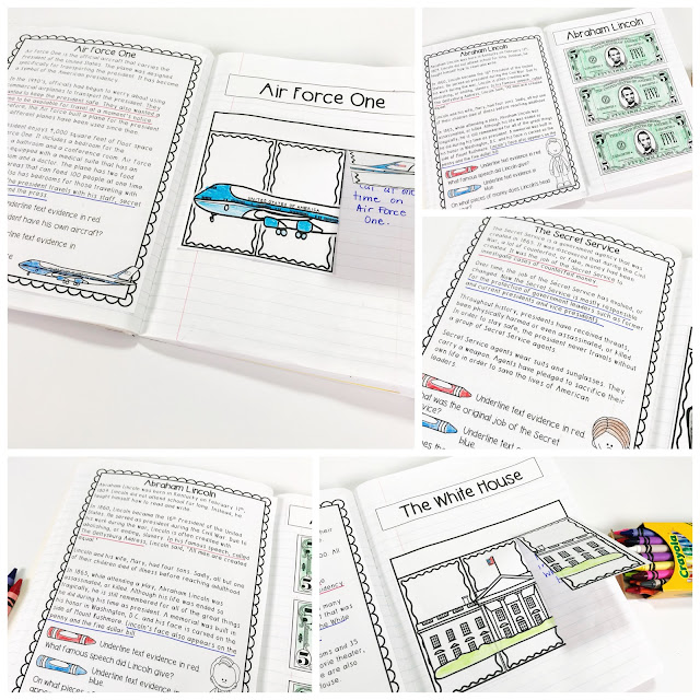 President's Day Interactive Notebook