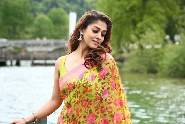 Top Beautiful Hairstyles of Nayanthara