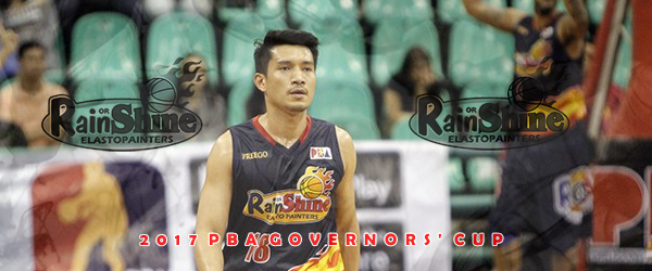 List of Leading Scorers Rain or Shine Elasto Painters 2017 PBA Governors' Cup