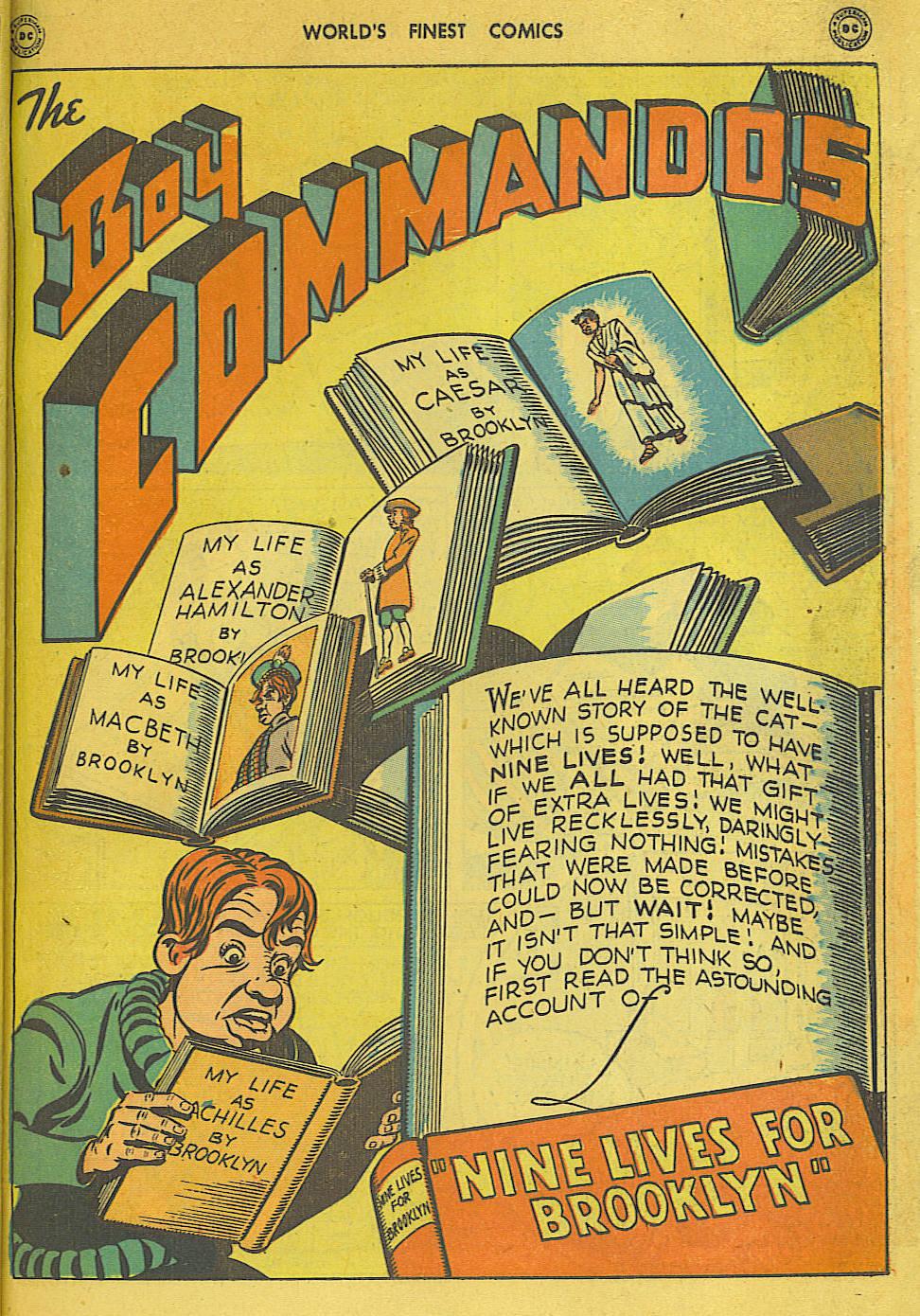 Read online World's Finest Comics comic -  Issue #34 - 27