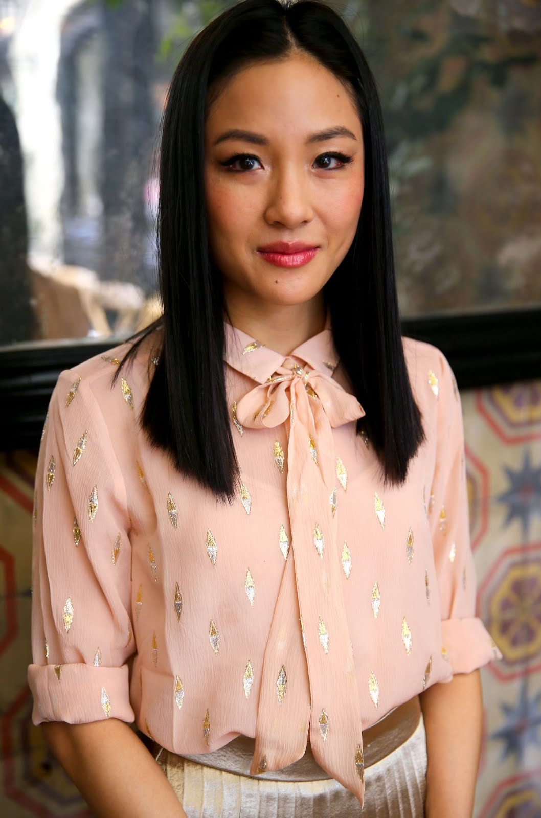 HD Wallpaper of Sexy Constance Wu