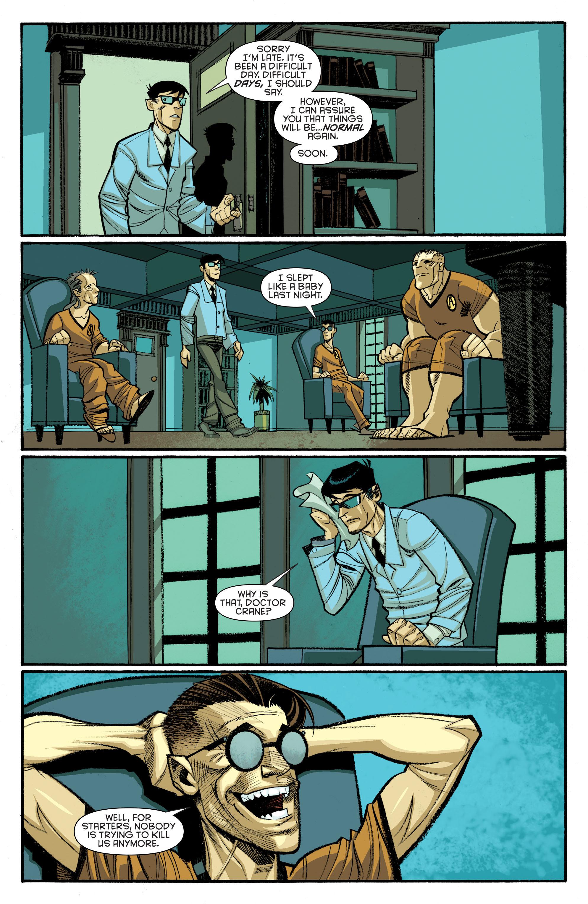 Read online Arkham Manor comic -  Issue #6 - 18