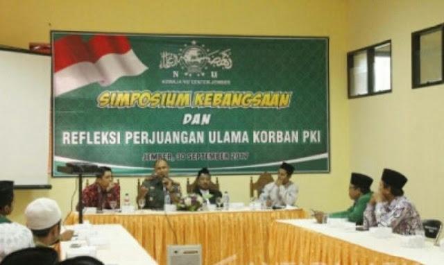 Simposium Perjuangan Kiai NU Korban PKI di Jember Hasilkan Tujuh Rekomendasi untuk Pemerintah