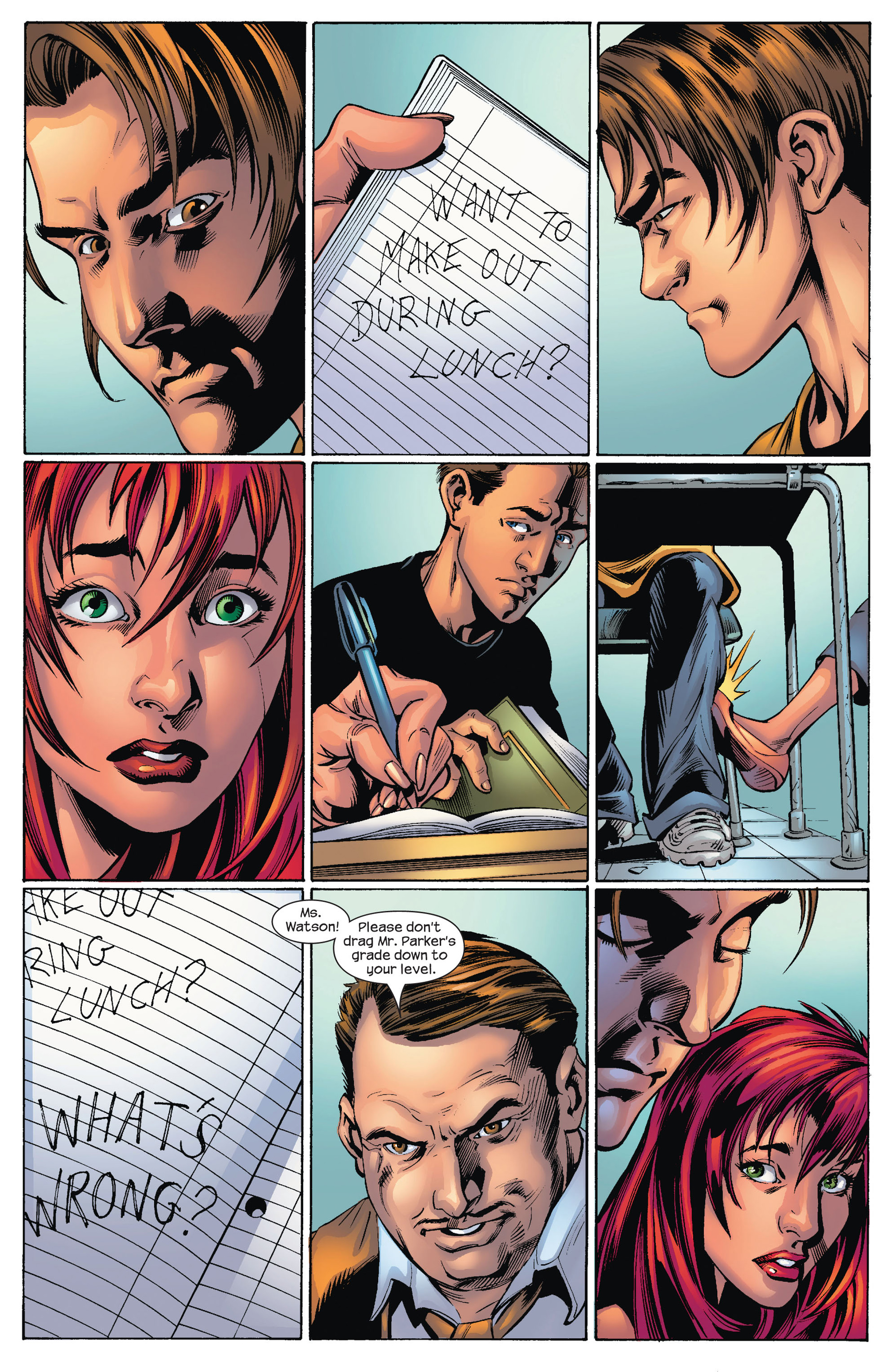Read online Ultimate Spider-Man (2000) comic -  Issue #74 - 6
