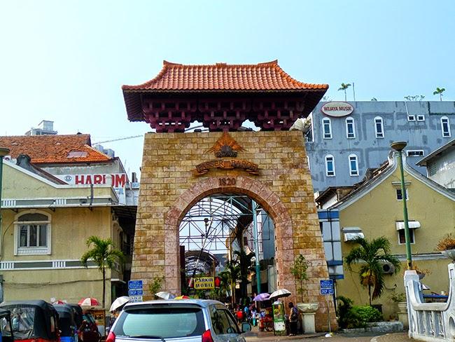 Pasar Baroe en Jakarta