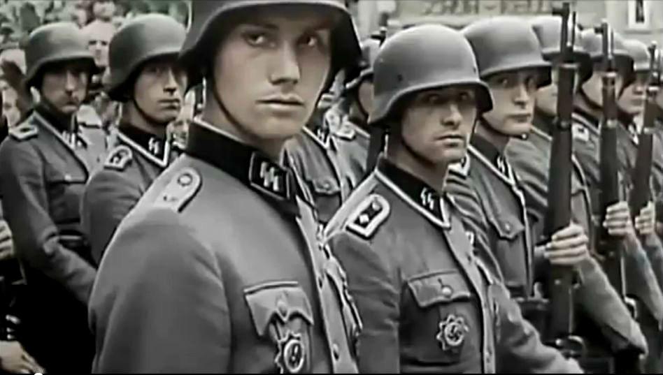 "Stabswache de Euros: ϟϟ-Division ""Reich"