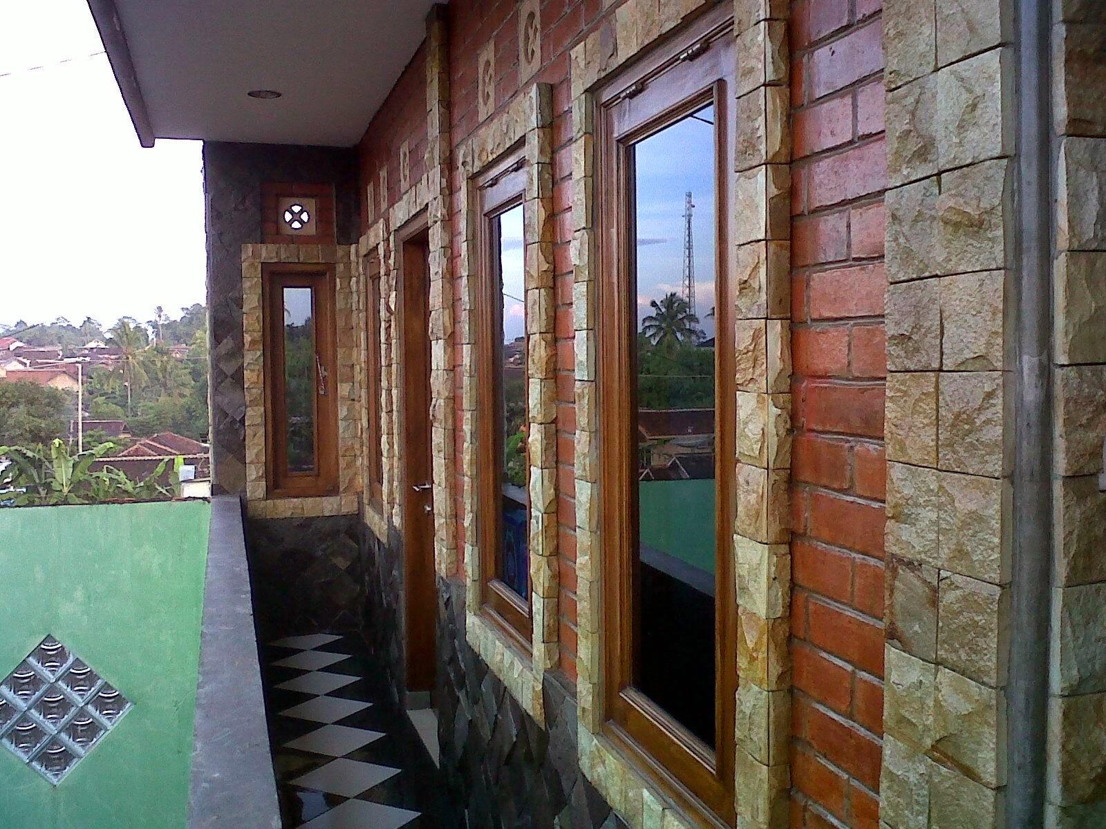 Batu Alam Untuk Desain Dinding Rumah Minimalis Batu Alam Jual