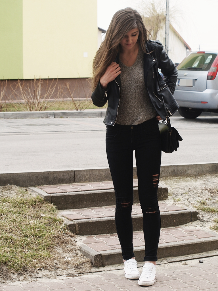 ALMOST TOTAL BLACK OOTD