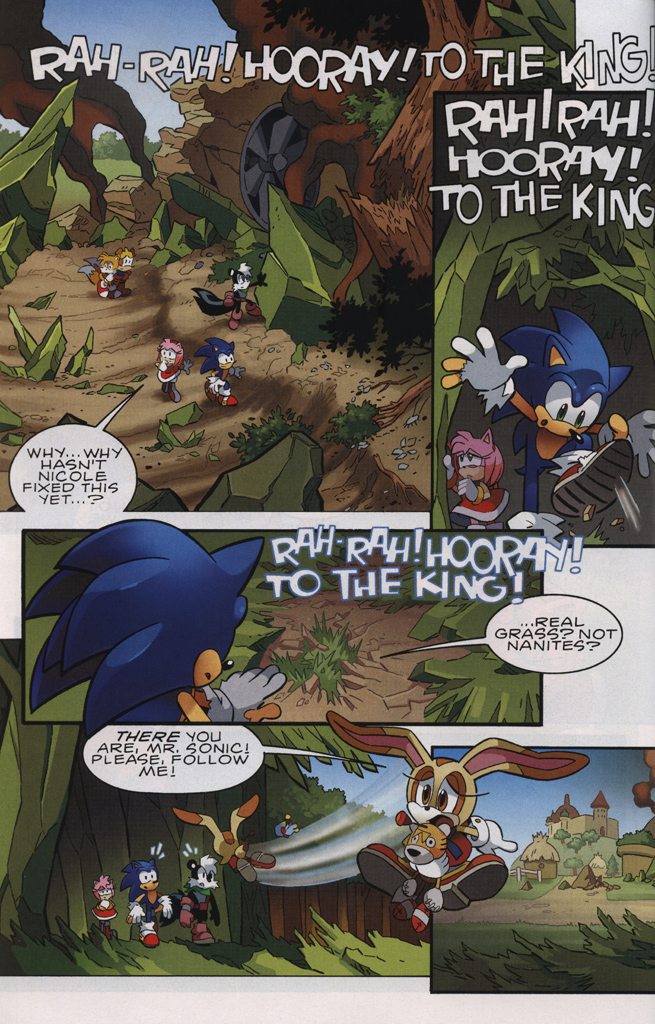 Read online Sonic The Hedgehog comic -  Issue #231 - 22