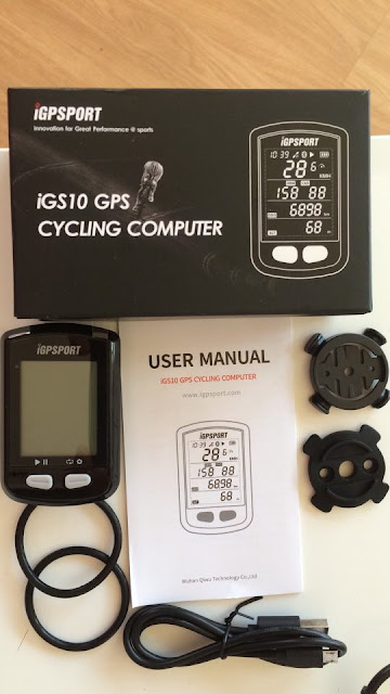 iGS10 GPS bike
