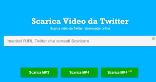 come scaricare video twitter