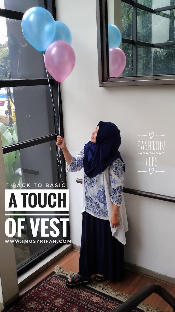 Back to Basic Outfit: A Touch Of Vest