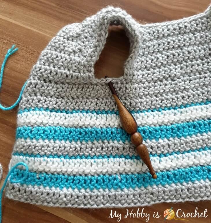 Arctic Baby Cardigan - Free Crochet Pattern