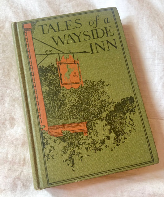 Vintage Show & Tell: Tales of a Wayside Inn by Henry Wadsworth Longfellow
