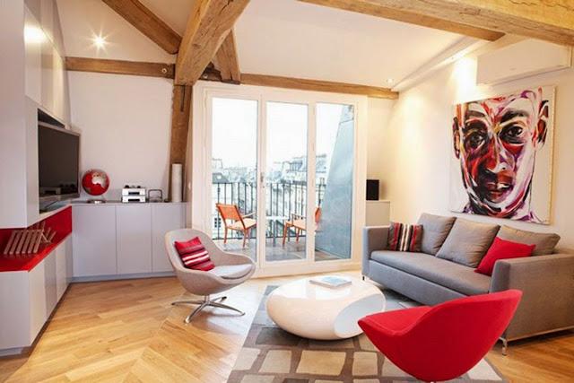 contoh desain ruang keluarga
