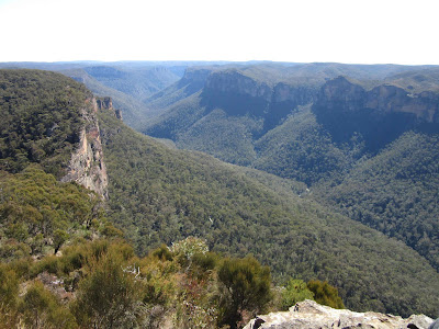 Valle Grose desde Anvil Rock. Blue Mountains. Sydney