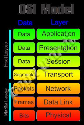 Urutan layer pada OSI