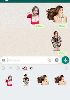 Mudahnya Buat Stiker Whatsapp Dengan Foto Sendiri