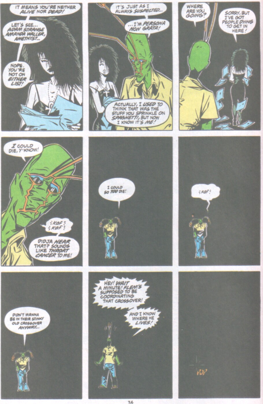 Read online Ambush Bug Nothing Special comic -  Issue # Full - 27