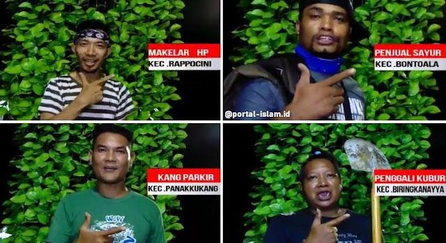 Video 15 Camat Dukung 01 Dilawan Video Parodi, dari Kang Parkir sampai Penggali Kubur