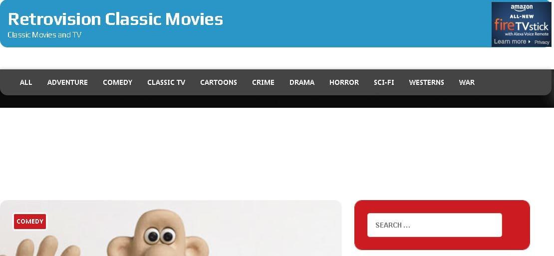 11- موقع Retrovision Classic Movies
