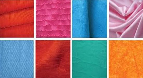 Various types of fabrics