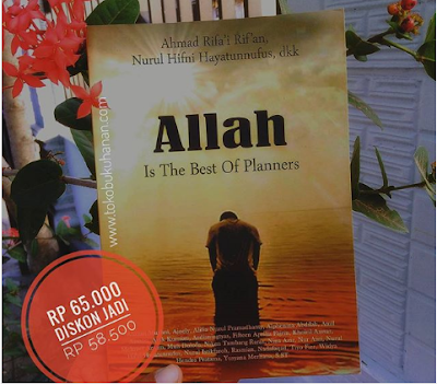 buku Allah is the best planners Ahmad Rifai Rifan
